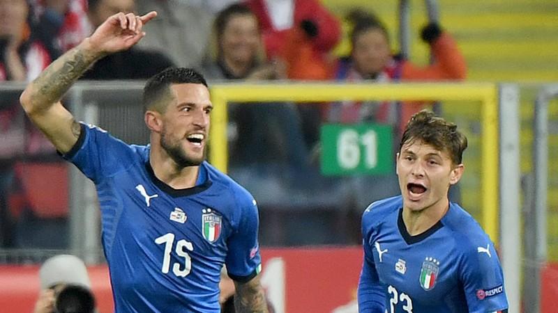 Italia derrota a Polonia