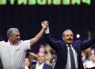 Danilo Medina y Gonzalo Castillo Cierre Campaña